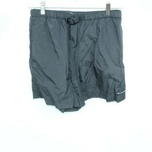 Columbia Hiking Shorts Size S Black Nylon Pockets